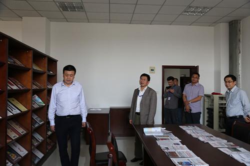 四川省高院调研组调研邻水法院文化建设工作