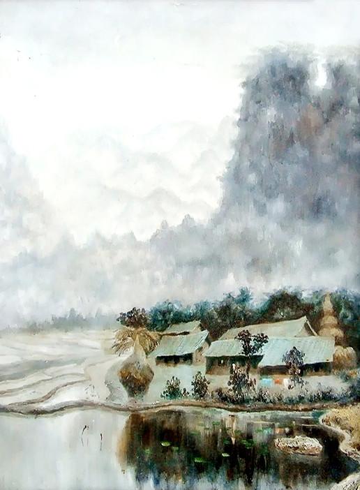 【展讯】客家风情――徐新华客家绘画作品展10月26日在中国艺库举行
